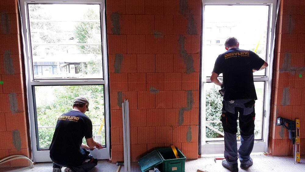 Fenstereinbau nach enev for Montage fenster