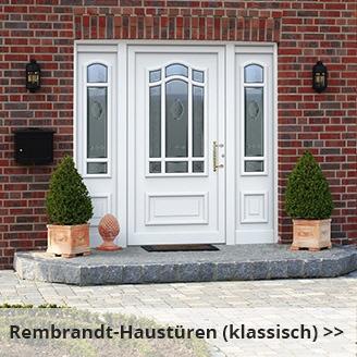 Aluminium Haustüren Serie Rembrandt (Bogen)